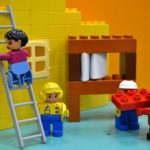 Building a lego house